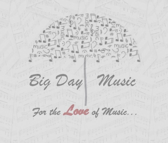 Big Day Music - Home of Event and Wedding Music in Jersey